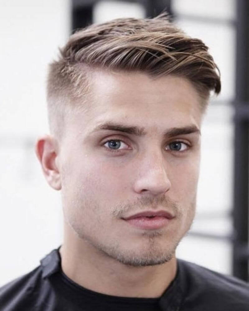 20 Stylish Hairstyles For Men Having Thick Hair And Round